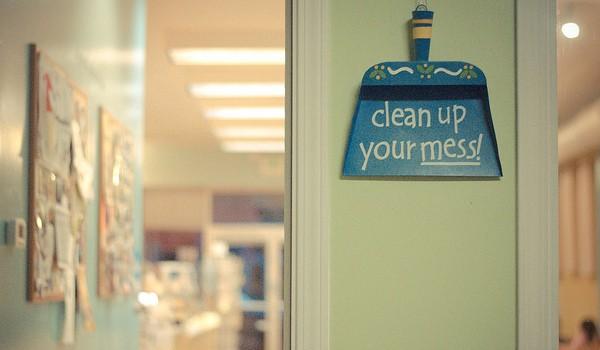節約掃除術