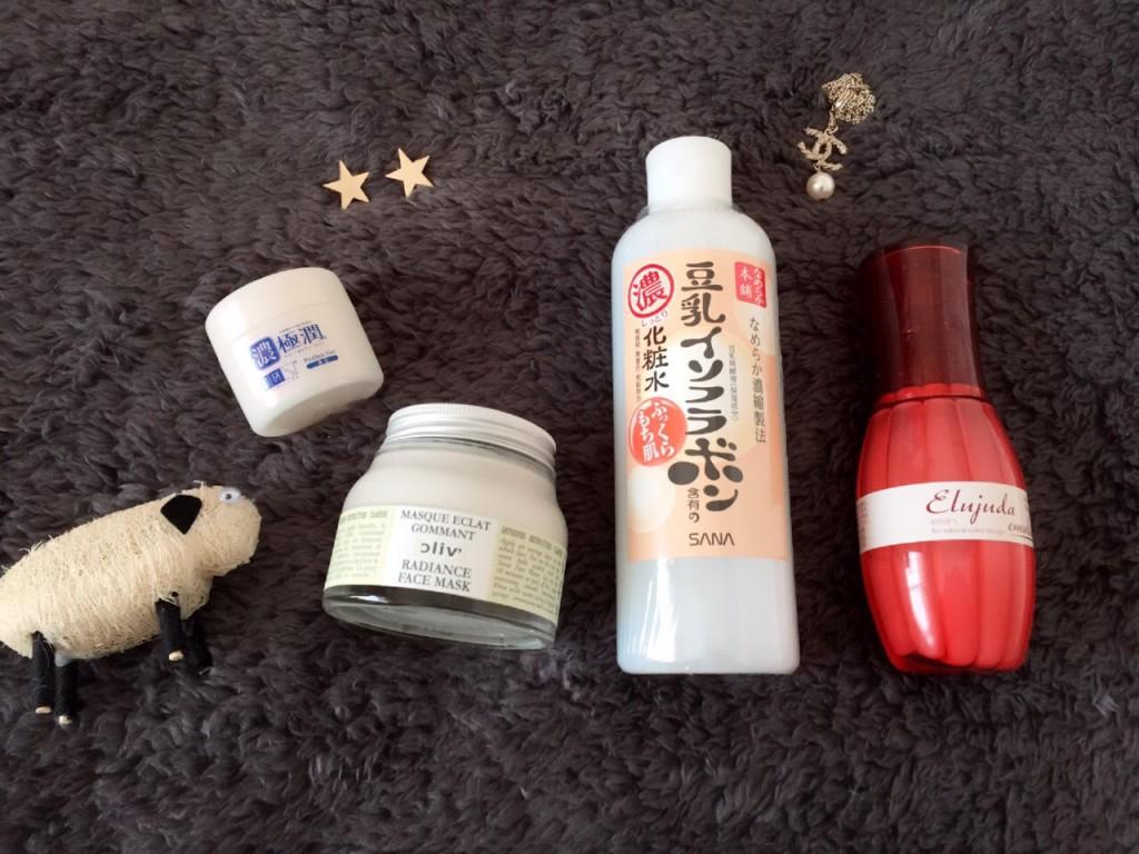 豆乳イソフラボン、肌ラボ、ラクラリーラディエンス フェイスマスク