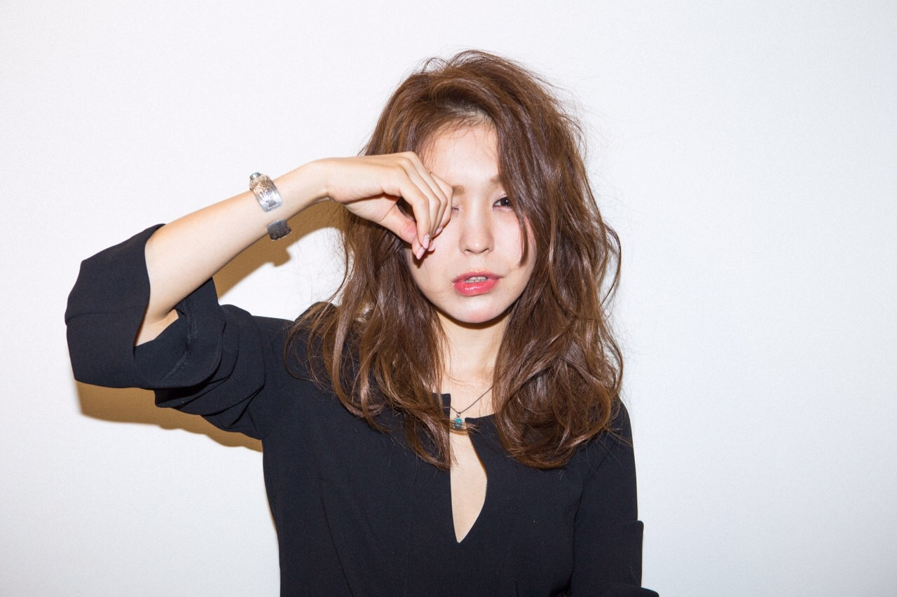 モデル 田尻晶子