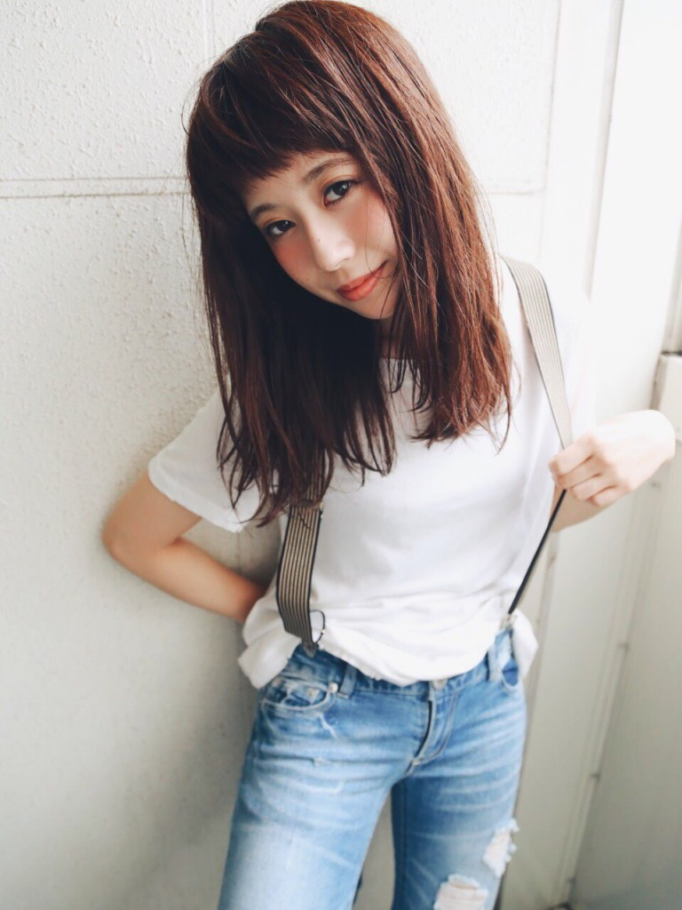 サロンモデル 山岡砂矢夏