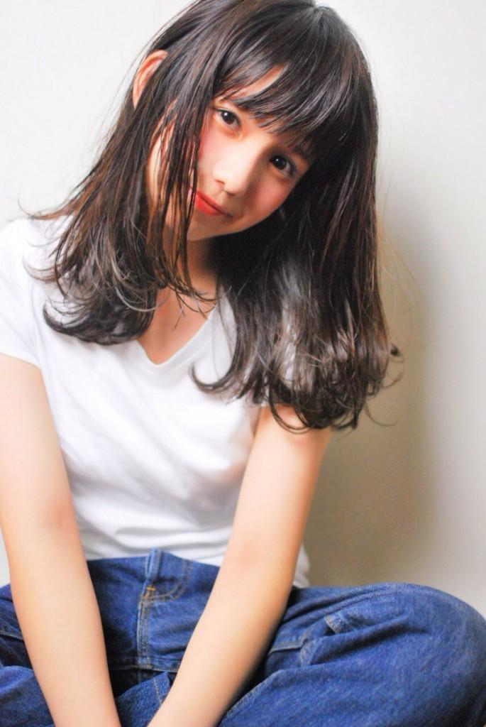 サロンモデル 櫻井美沙