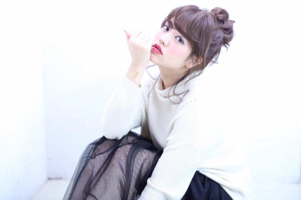 photo by 黒川明男さん hair arrange by 早川真妃さん make by 福島梓さん(セルフメイク)