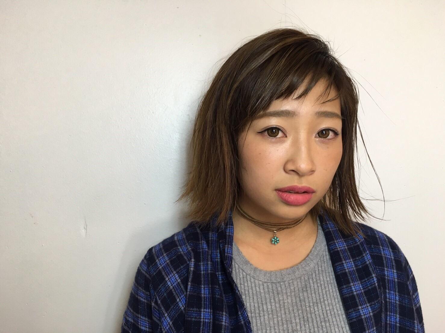 サロンモデル Ayana